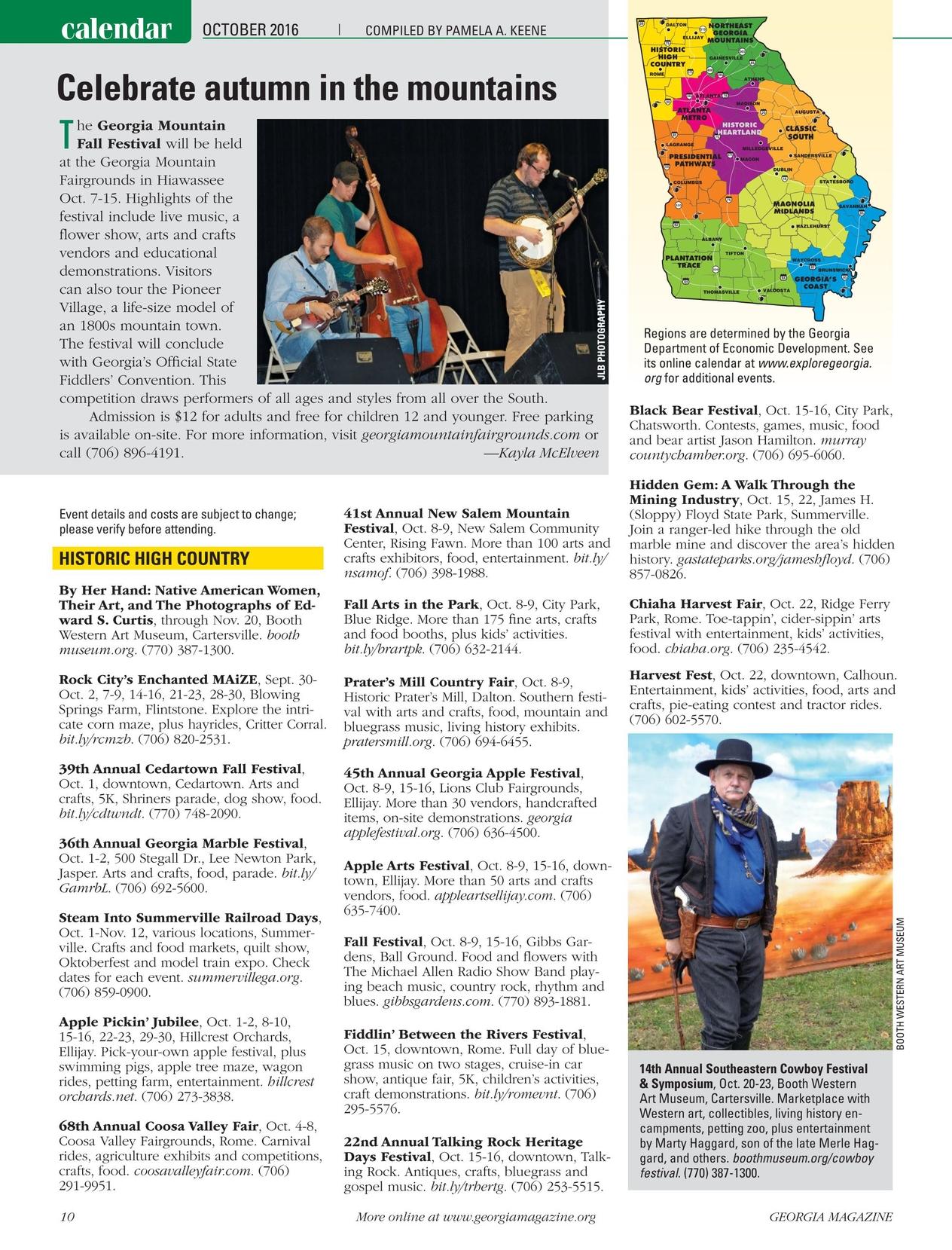 Georgia Magazine - October 2016