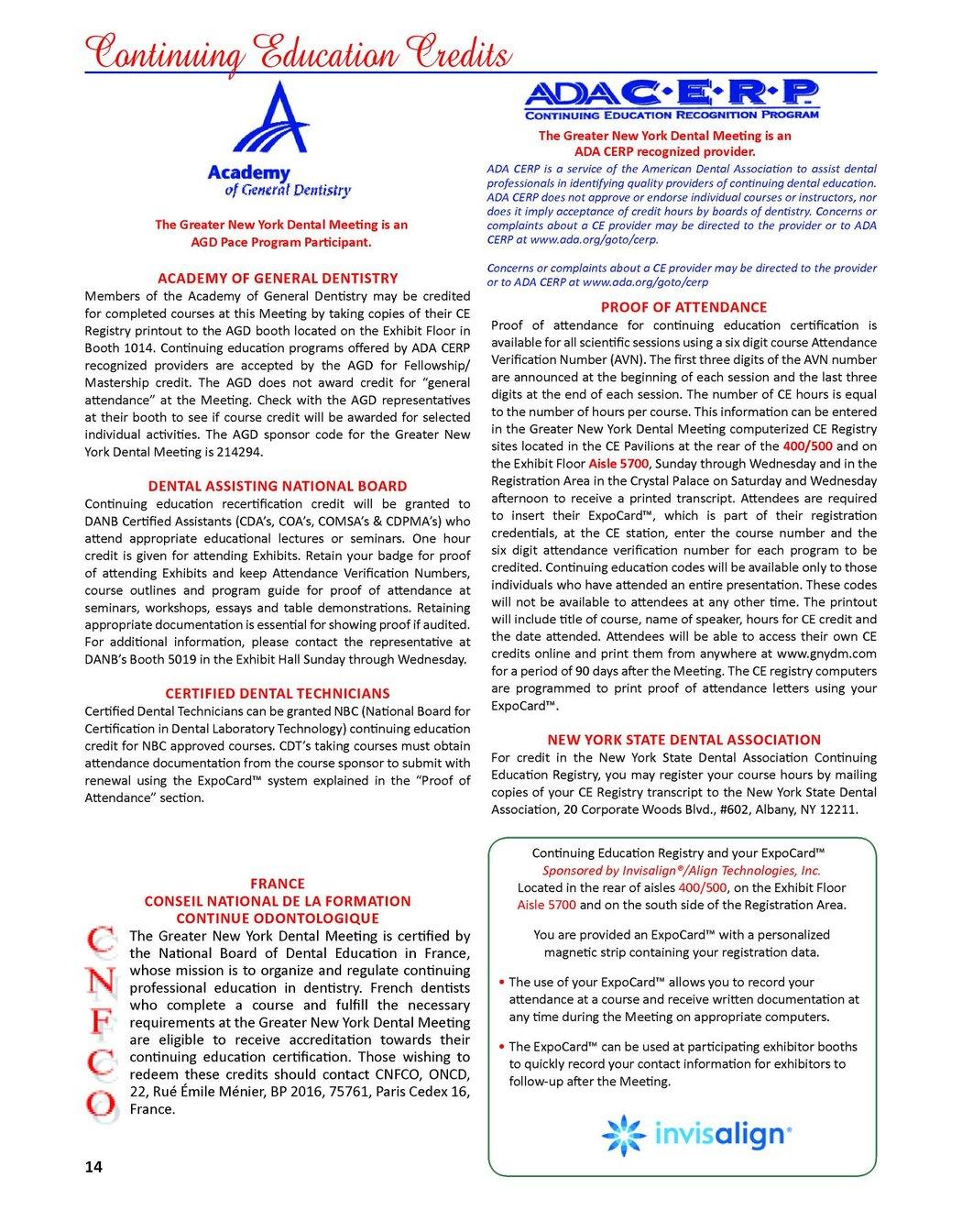 Greater New York Dental Meeting Program Guide 2010