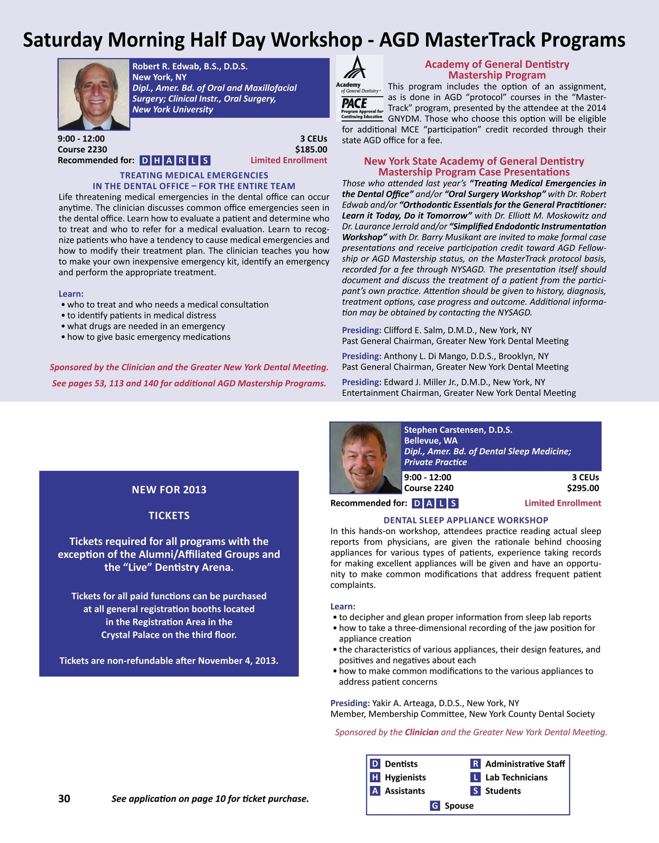 Greater New York Dental Meeting Program Guide 2013