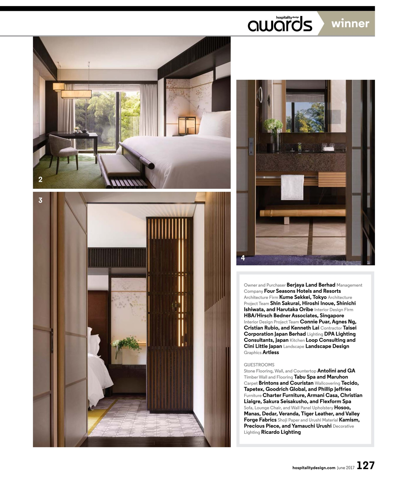 Hospitality Design   June 2017