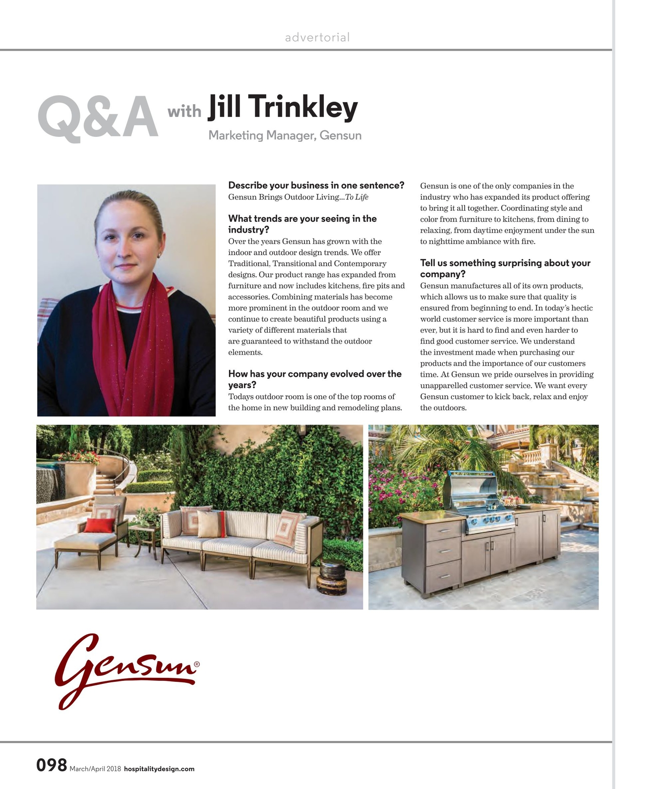 Hospitality Design - March/April 2018