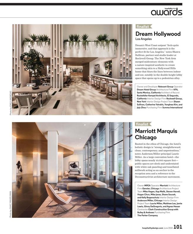 Hospitality Design - June 2018