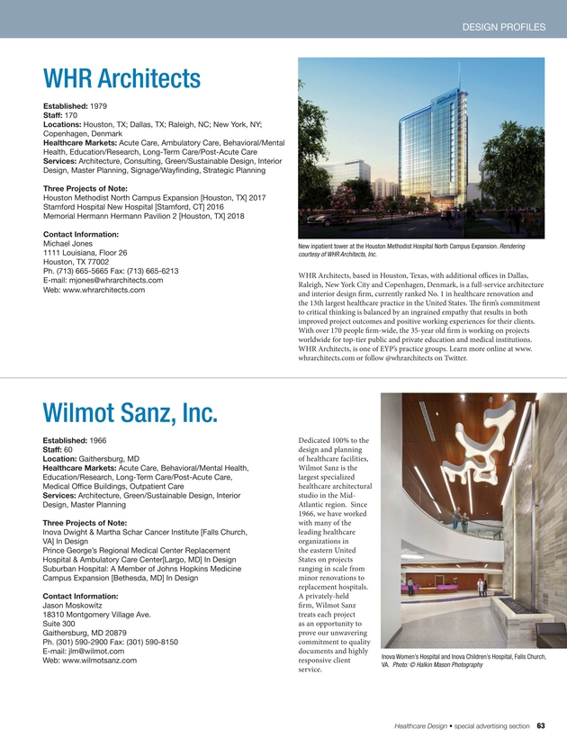 Healthcare Design - March 2016