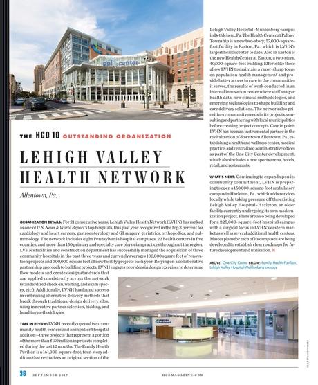 Healthcare Design - September 2017