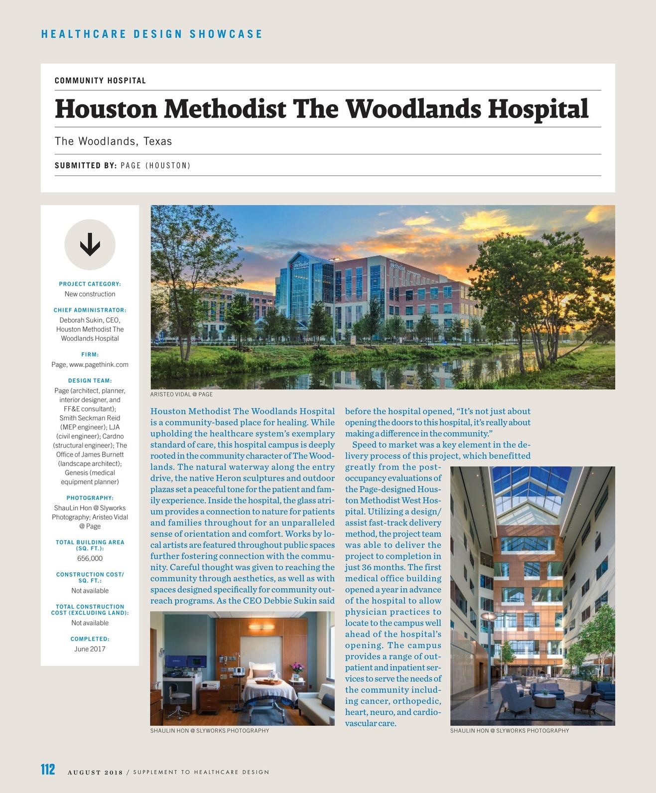 Healthcare Design - August 2018