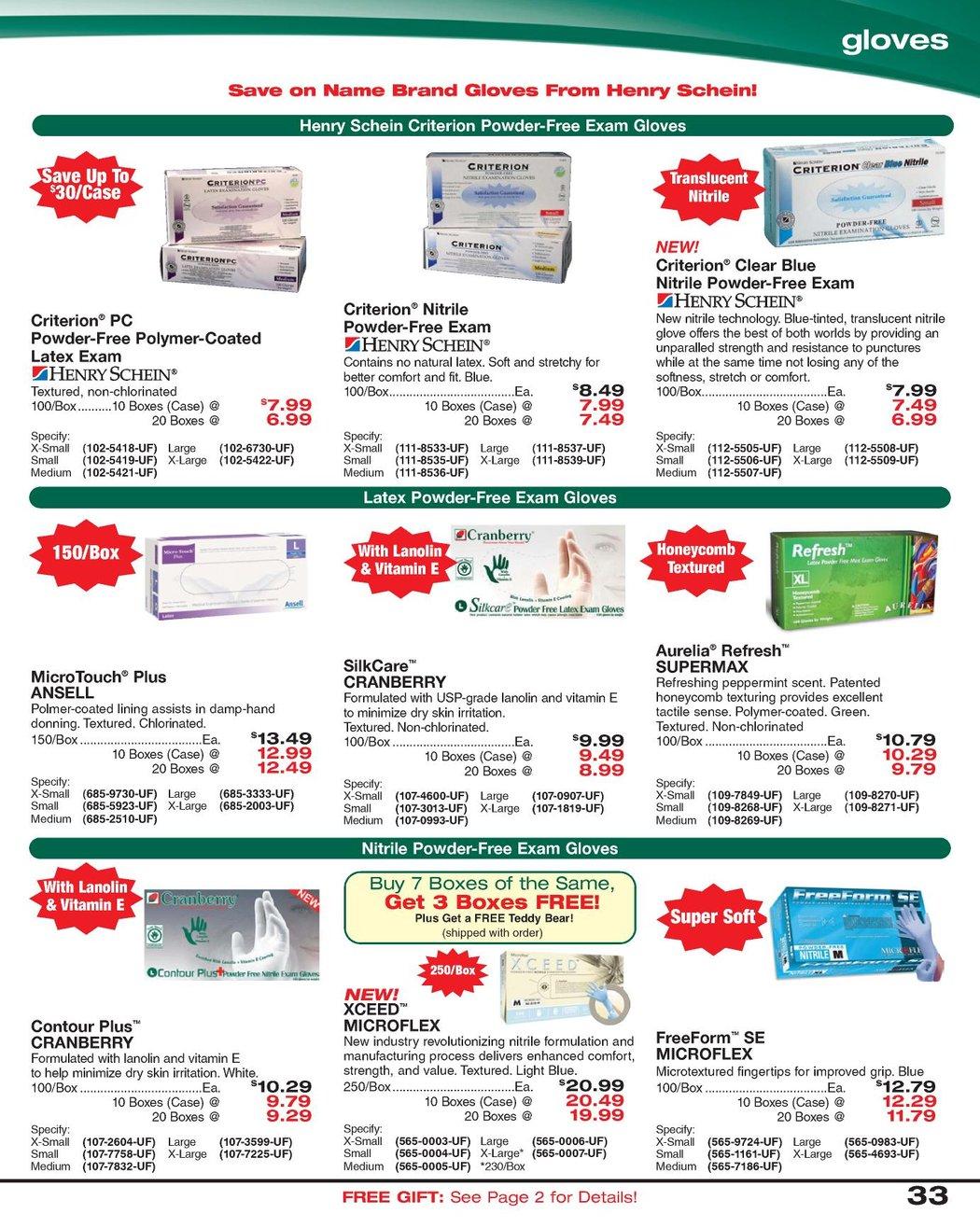 Dental Sales Flyer - April 2011