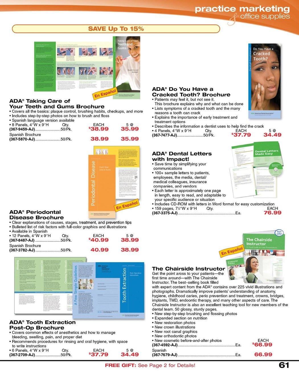 Dental Sales Flyer - May 2011