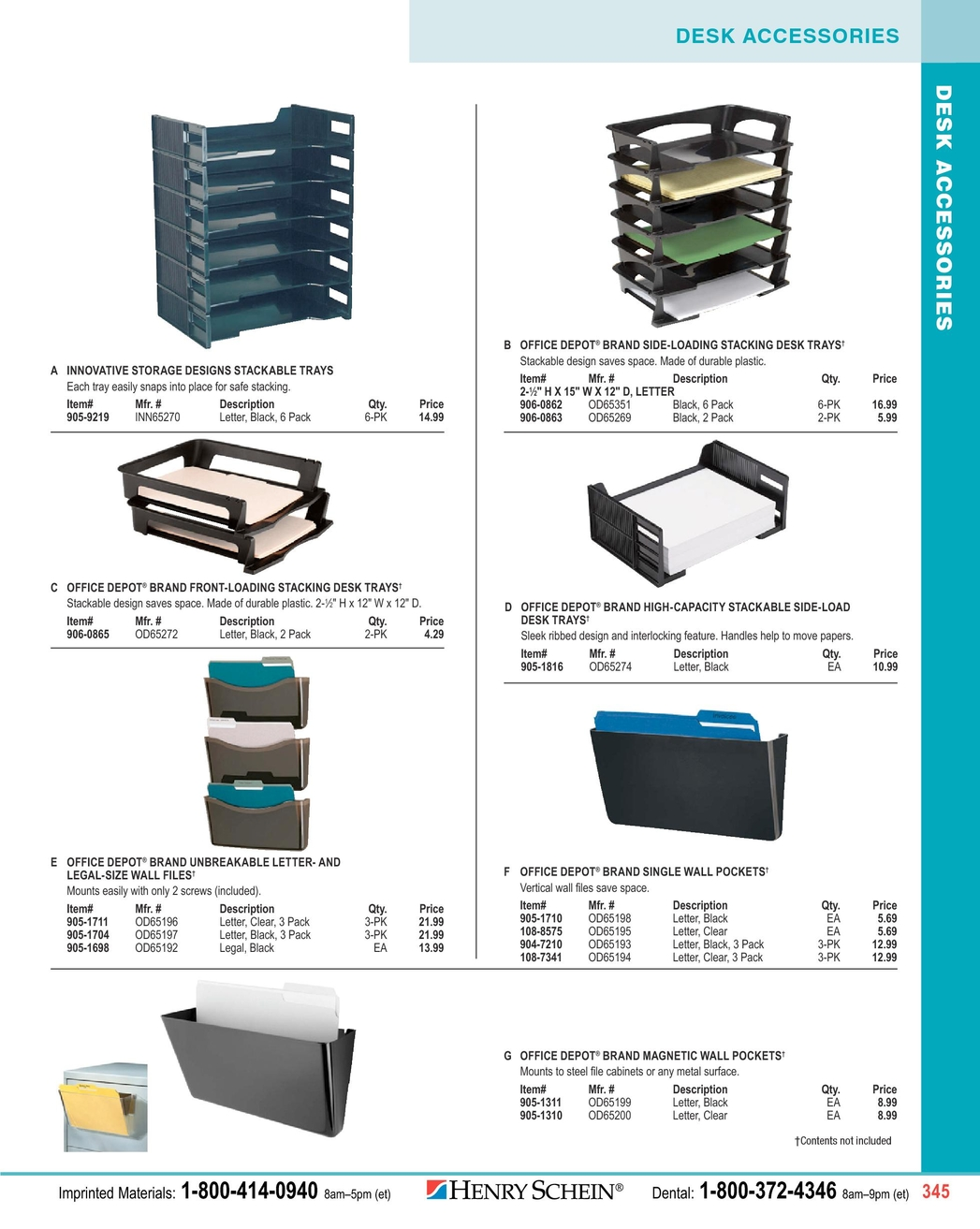 2012 Practice Marketing Office Supply Catalog