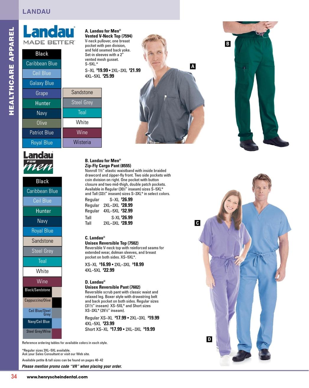 Uniforms Flyer - Spring 2012