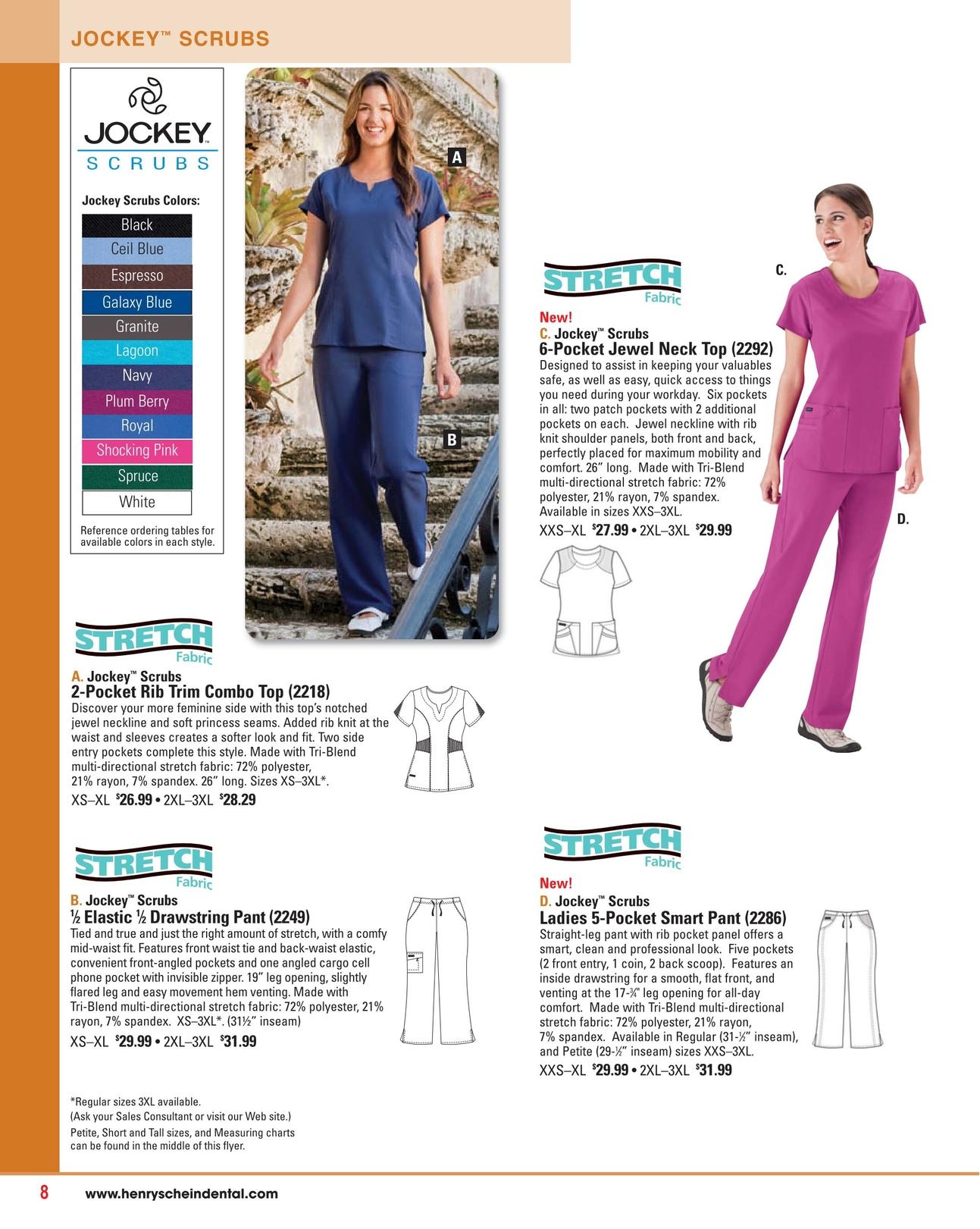 6e81410c1b1 Uniform Source - Fall/Winter 2013 - (Page 8). JOCKEY ™ SCRUBS ...