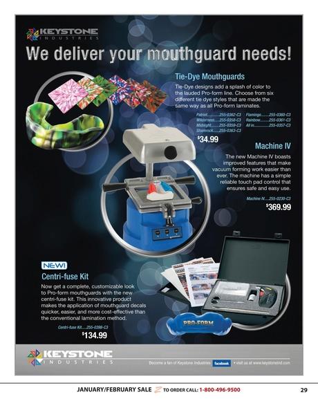 Zahn Dental Sales Flyer - January/February 2013