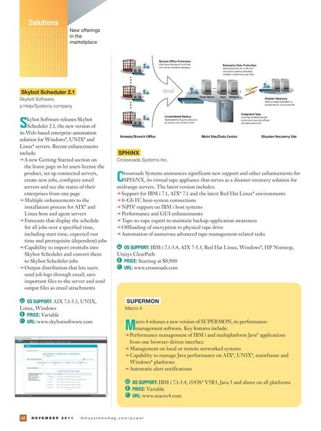 IBM Systems Magazine, Power Systems Edition - November 2011