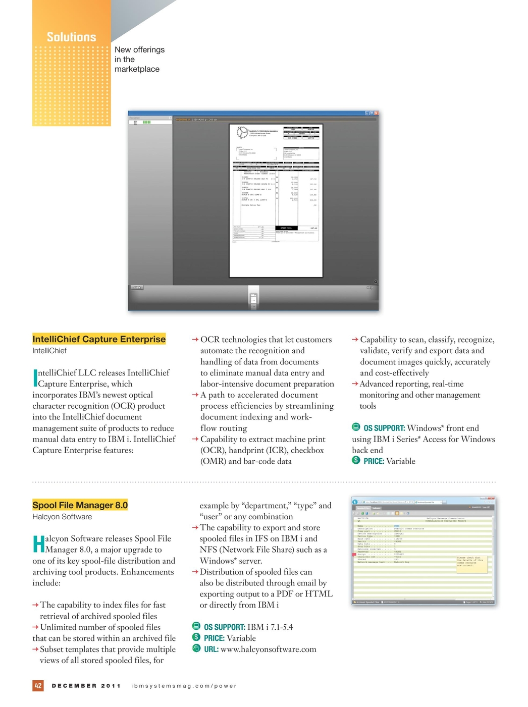 IBM Systems Magazine, Power Systems Edition - December 2011