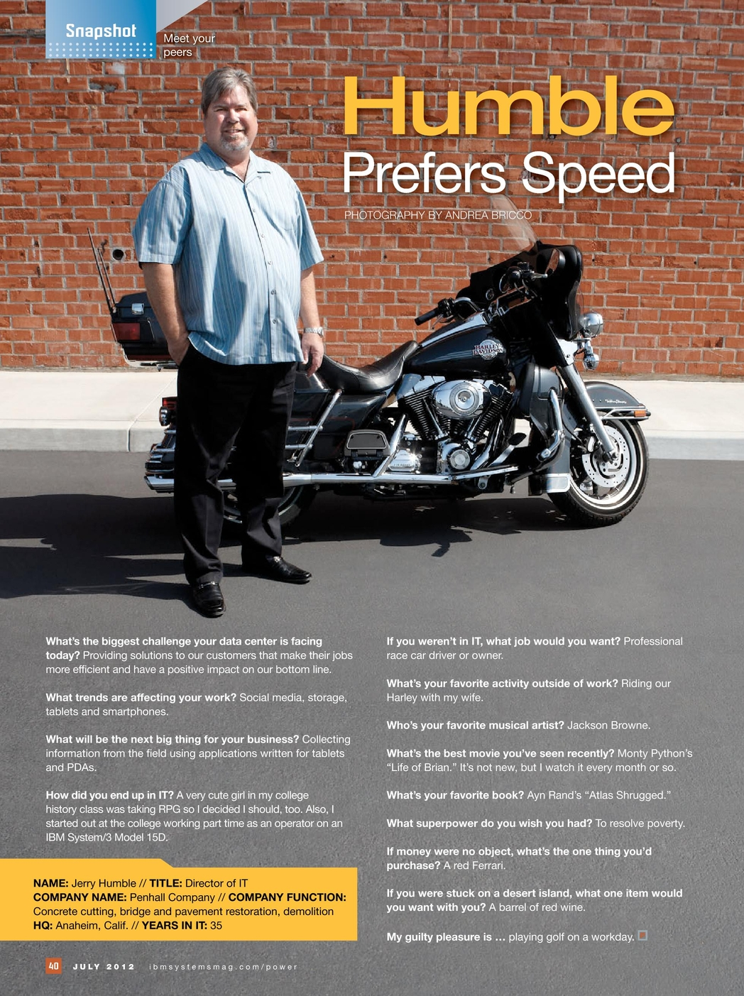 IBM Systems Magazine, Power Systems Edition - July 2012