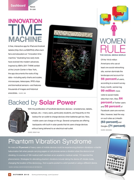 IBM Systems Magazine, Power Systems Edition - October 2012