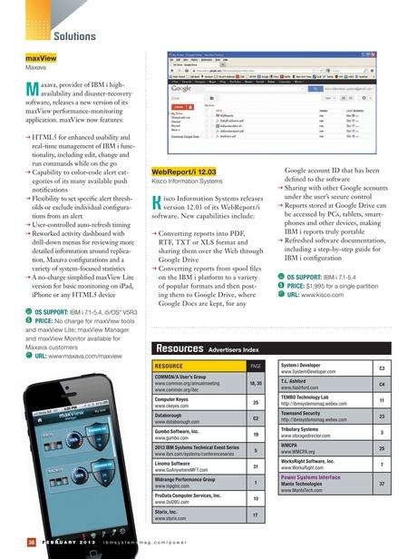 IBM Systems Magazine, Power Systems Edition - February 2013
