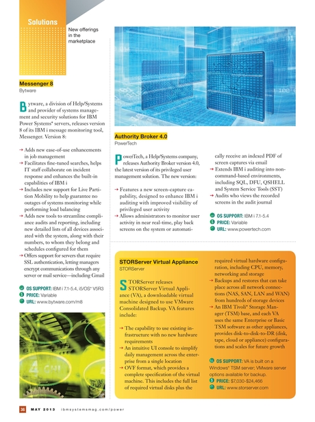 IBM Systems Magazine, Power Systems Edition - May 2013