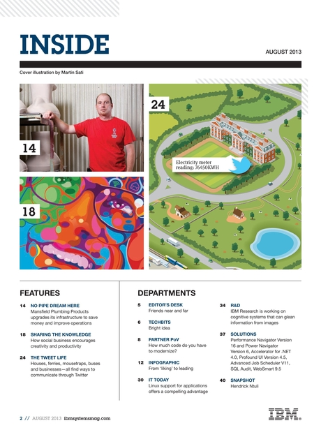 IBM Systems Magazine, Power Systems - August 2013