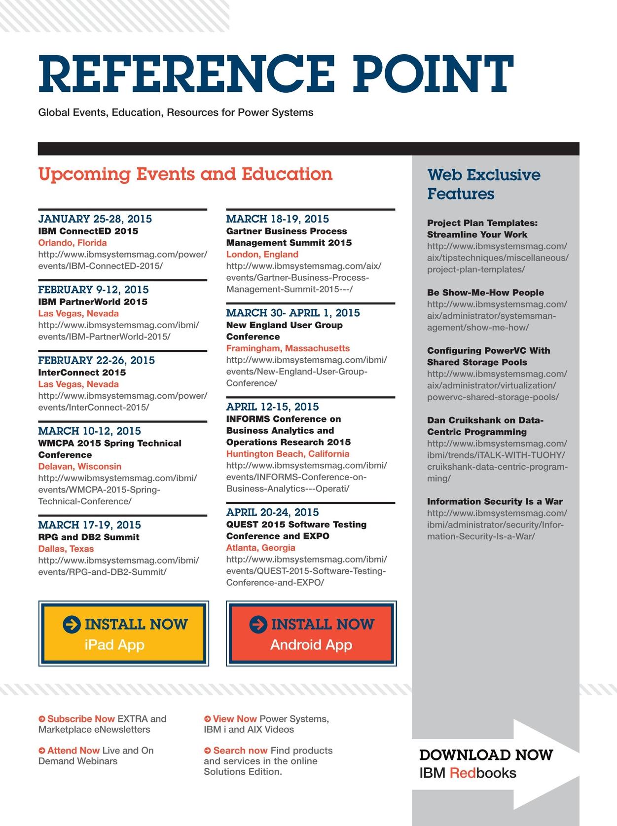 IBM Systems Magazine, Power Systems - January 2015