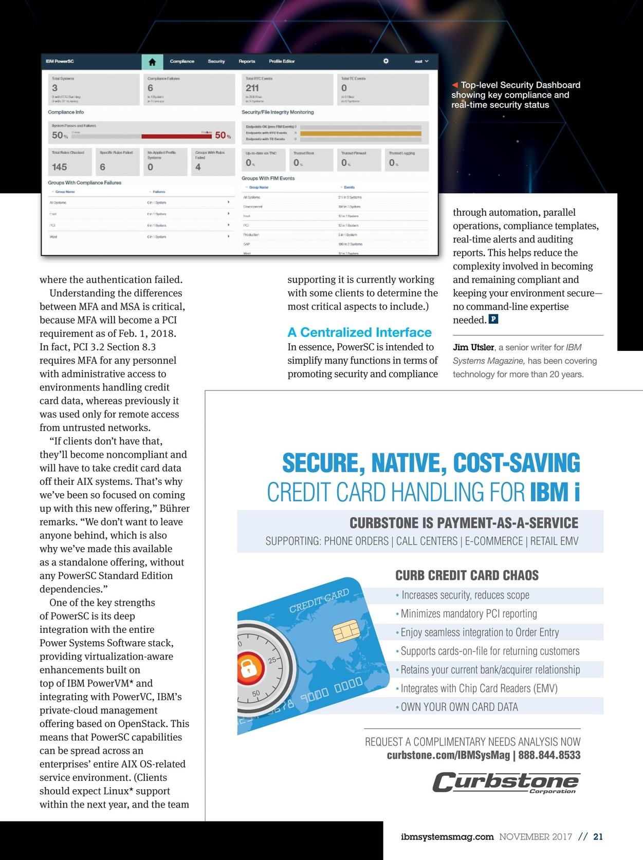 IBM Systems Magazine, Power Systems - November 2017