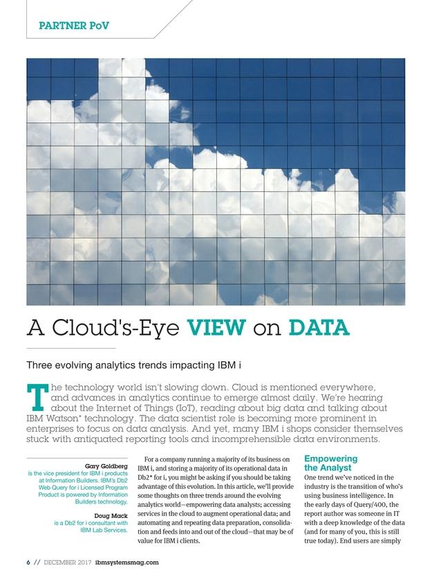 IBM Systems Magazine, Power Systems - December 2017
