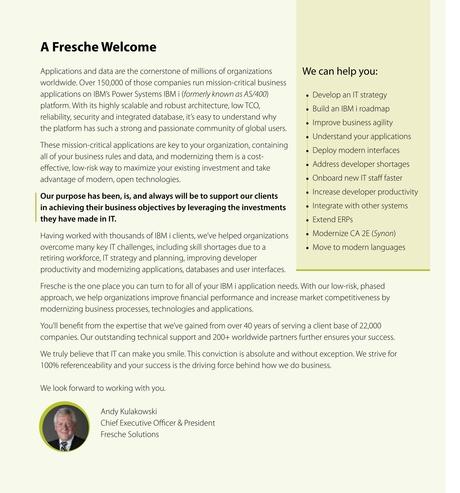 IBM Systems Magazine, Power Systems - January 2018