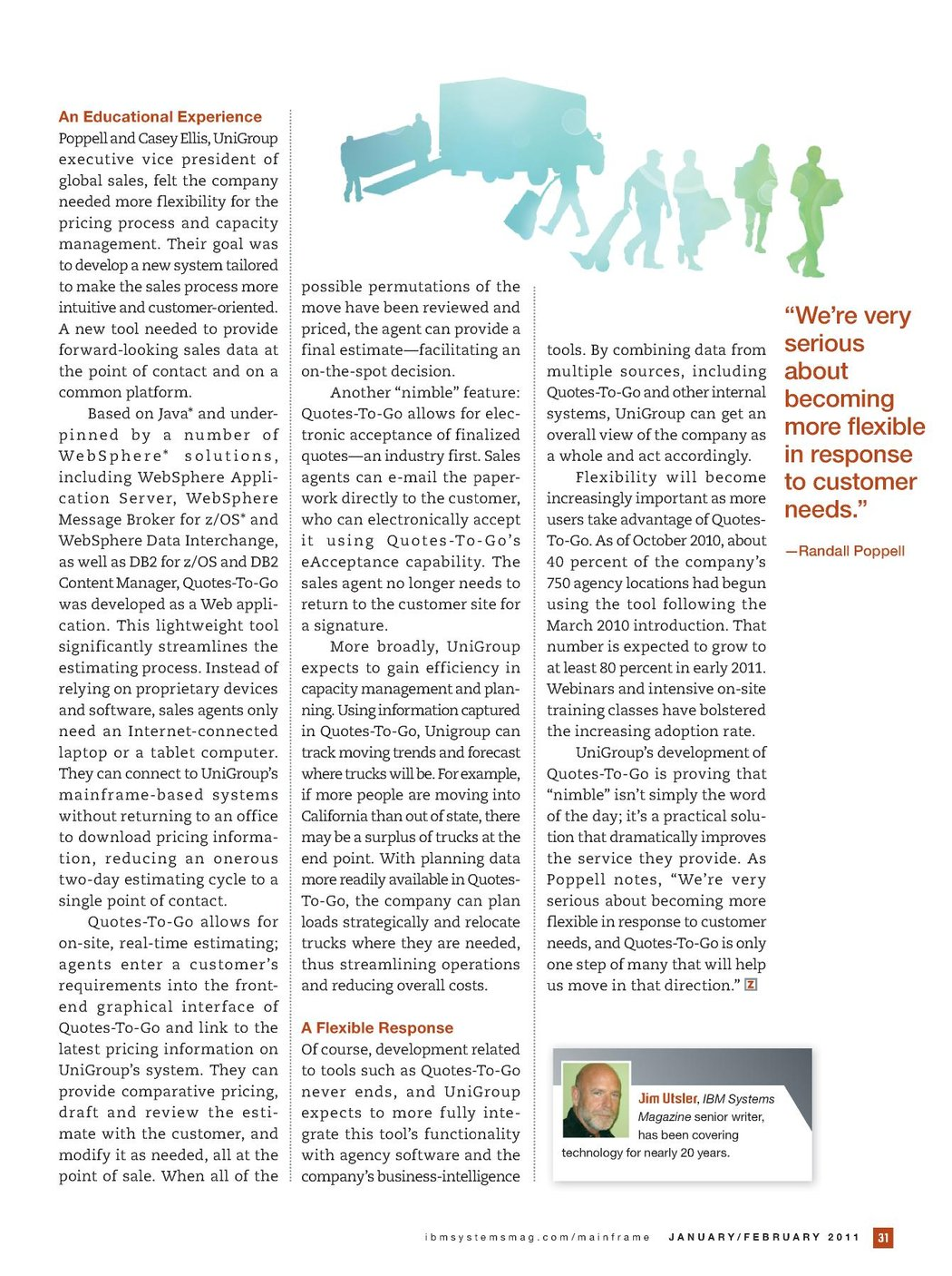 IBM Systems Magazine, Mainframe Edition - January/February 2011
