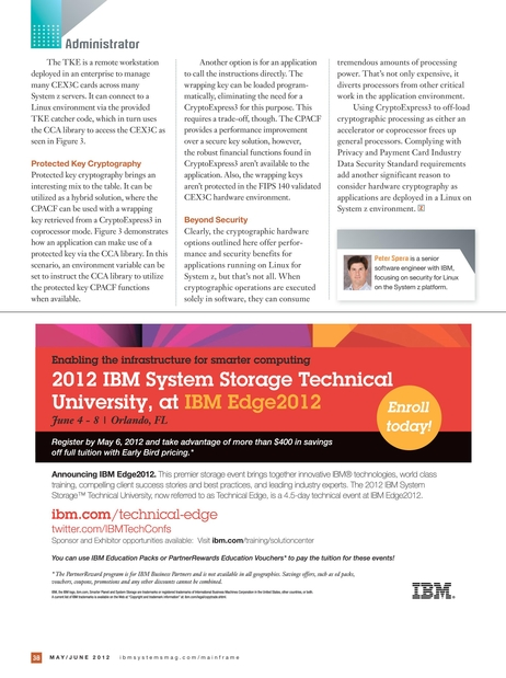 IBM Systems Magazine, Mainframe Edition - May/June 2012