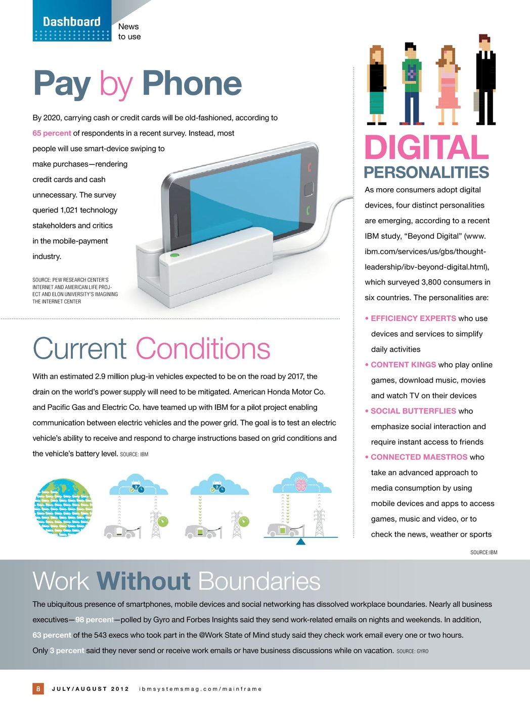 IBM Systems Magazine, Mainframe - July/August 2012