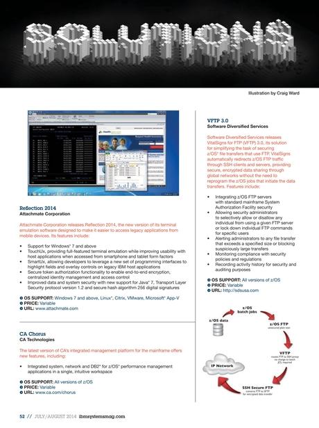 IBM Systems Magazine, Mainframe - July/August 2014