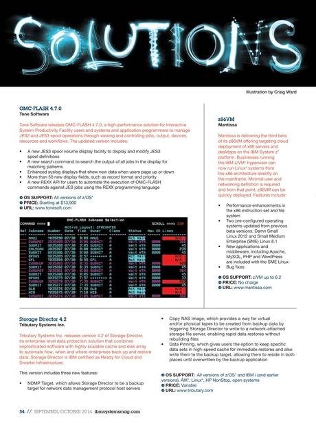IBM Systems Magazine, Mainframe - September 2014