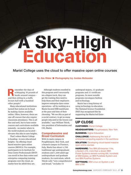 IBM Systems Magazine, Mainframe - January/February 2015