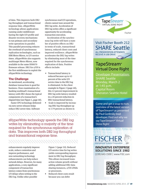 IBM Systems Magazine, Mainframe - March/April 2015