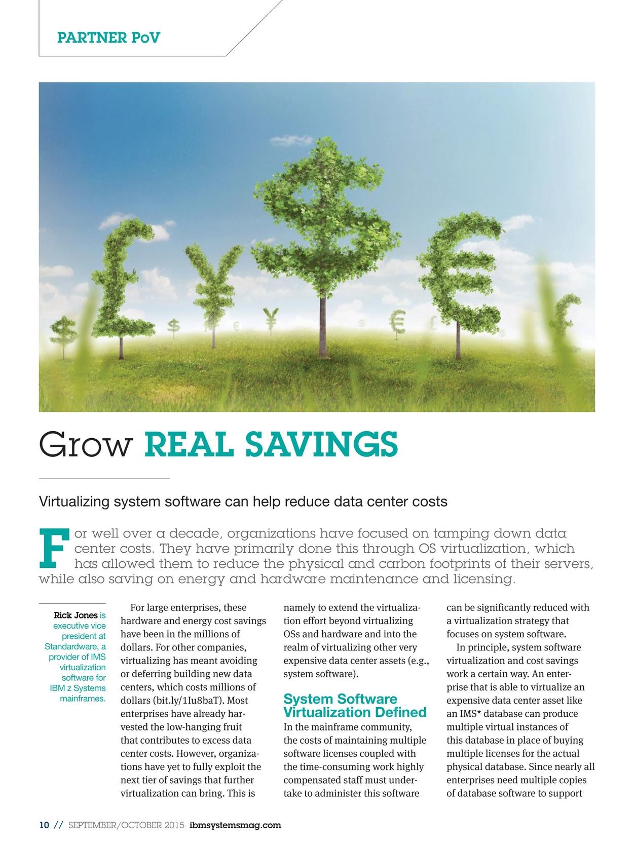 IBM Systems Magazine, Mainframe - September/October 2015