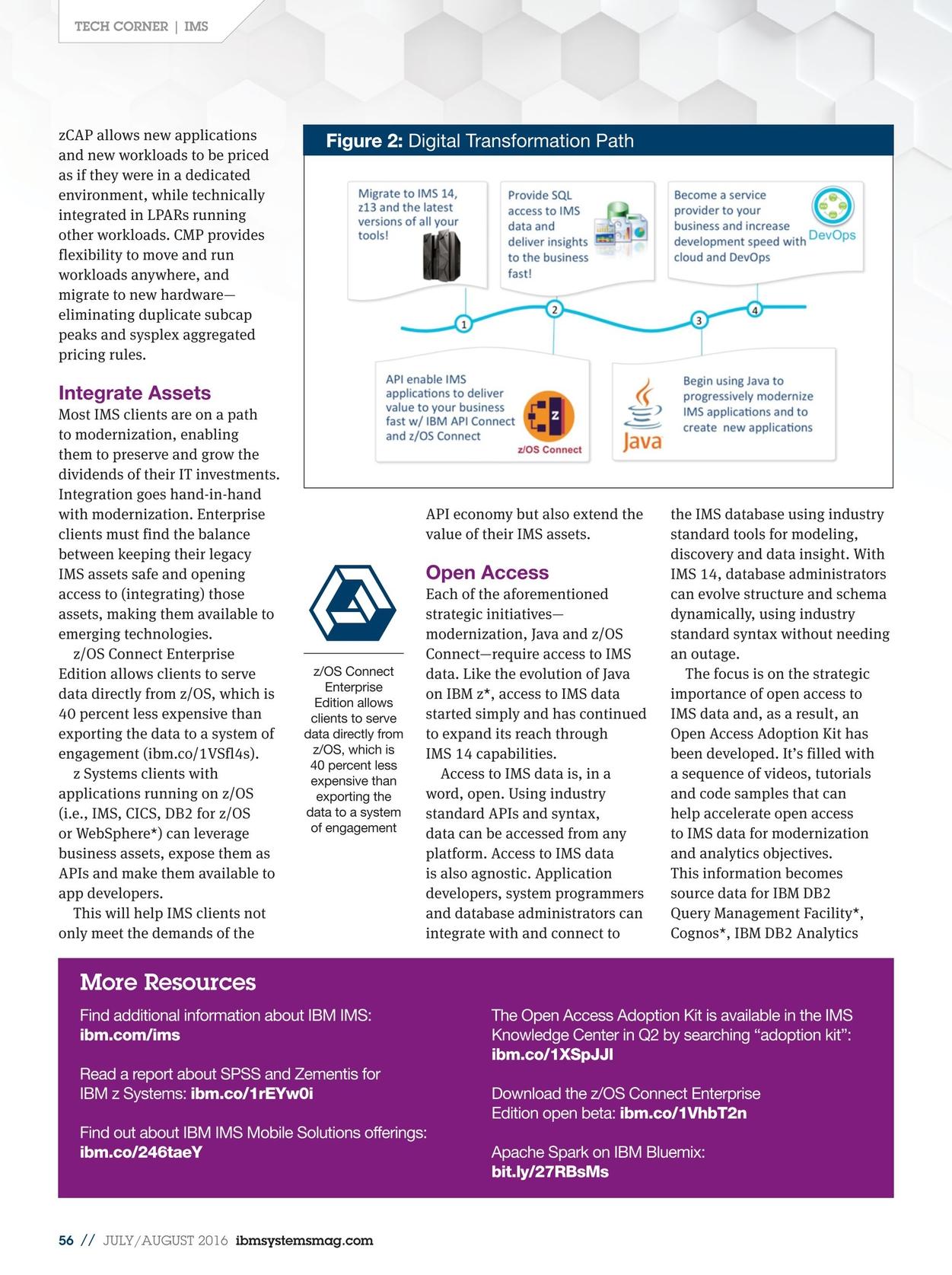 IBM Systems Magazine, Mainframe - July/August 2016