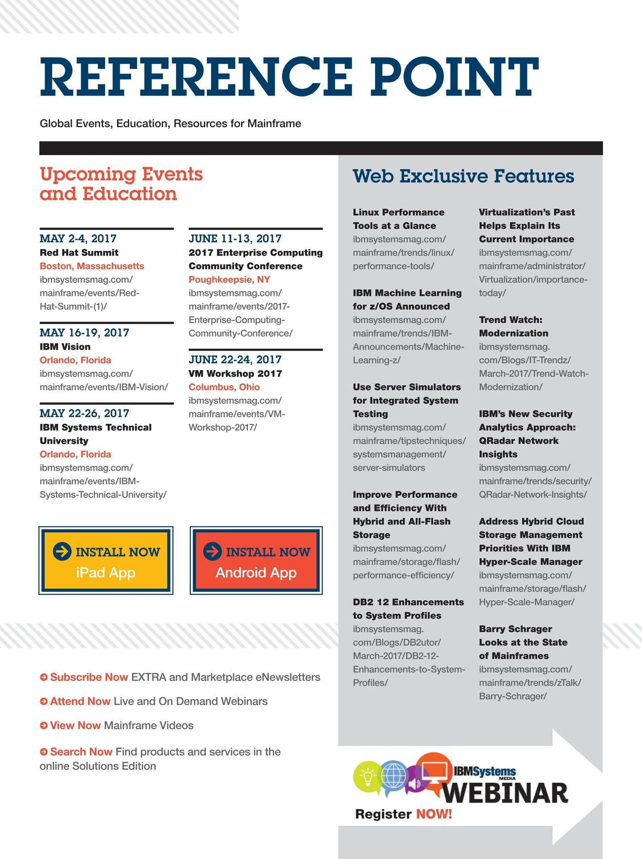 IBM Systems Magazine, Mainframe - May/June 2017