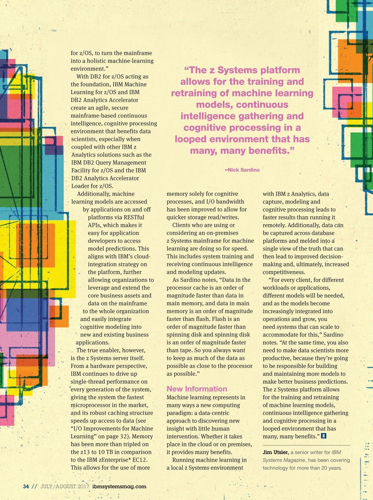 IBM Systems Magazine, Mainframe - July/August 2017