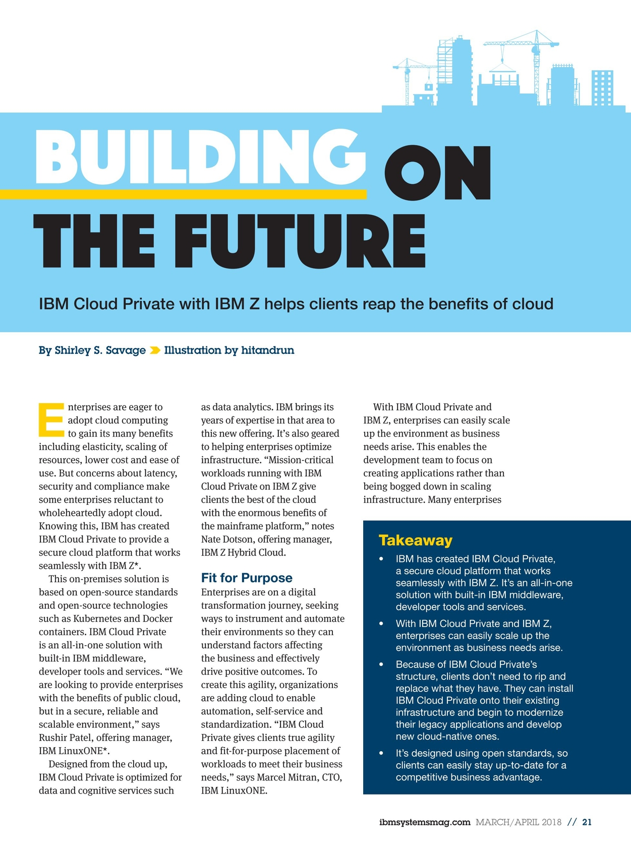 IBM Systems Magazine, Mainframe - March/April 2018