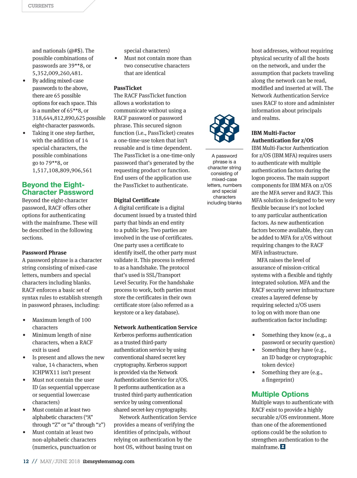 IBM Systems Magazine, Mainframe - May/June 2018