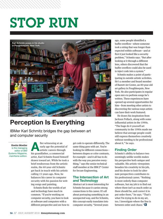 IBM Systems Magazine, Mainframe - July/August 2018