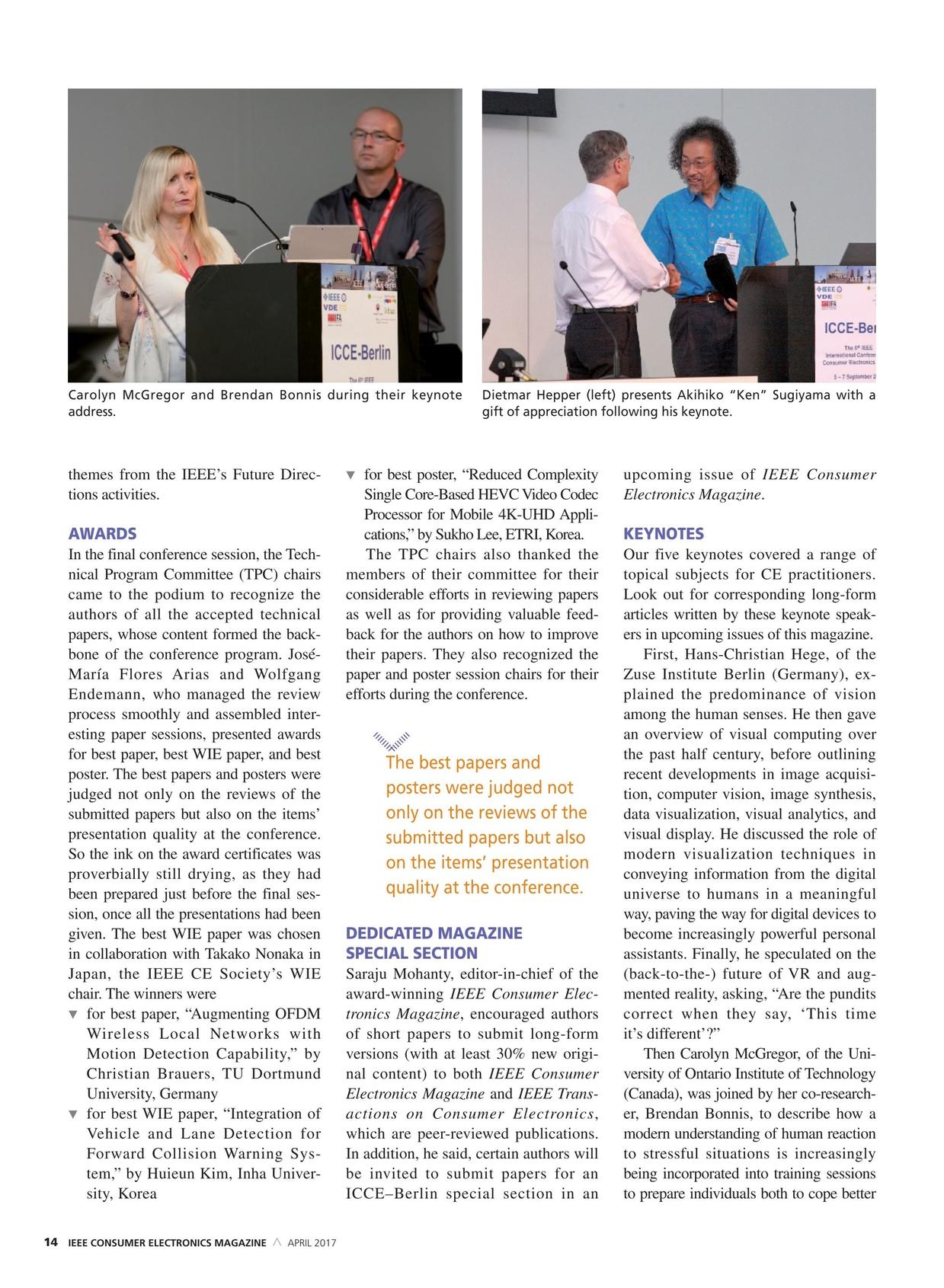 IEEE Consumer Electronics Magazine - April 2017