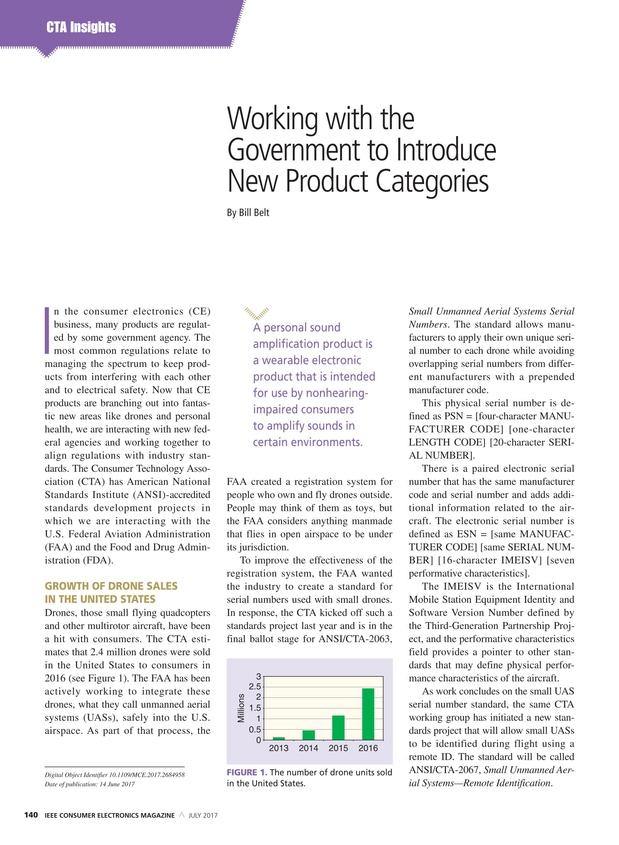 IEEE Consumer Electronics Magazine - July 2017
