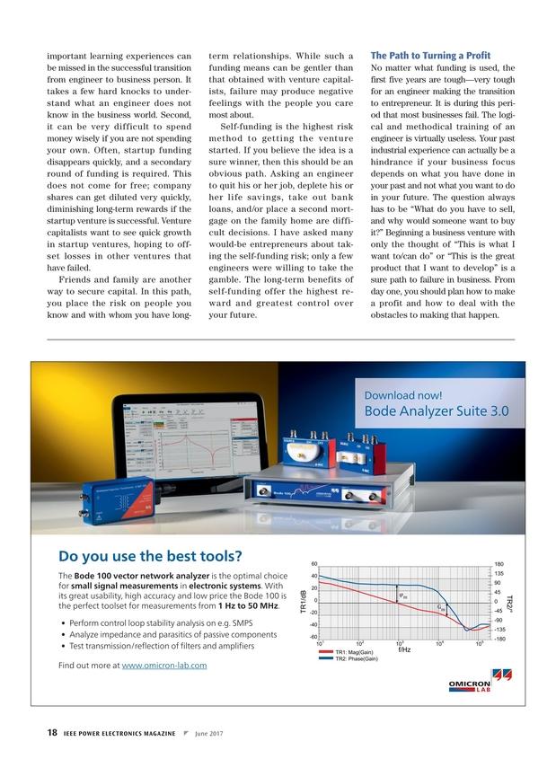 IEEE Power Electronics Magazine - June 2017