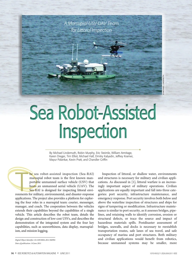 Ieee Robotics Automation Magazine June 2011
