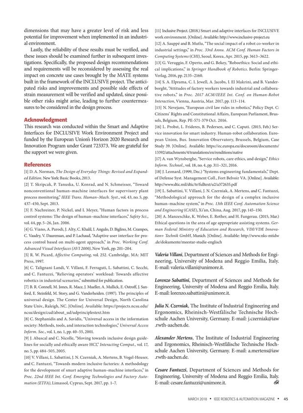 IEEE Robotics & Automation Magazine - March 2018