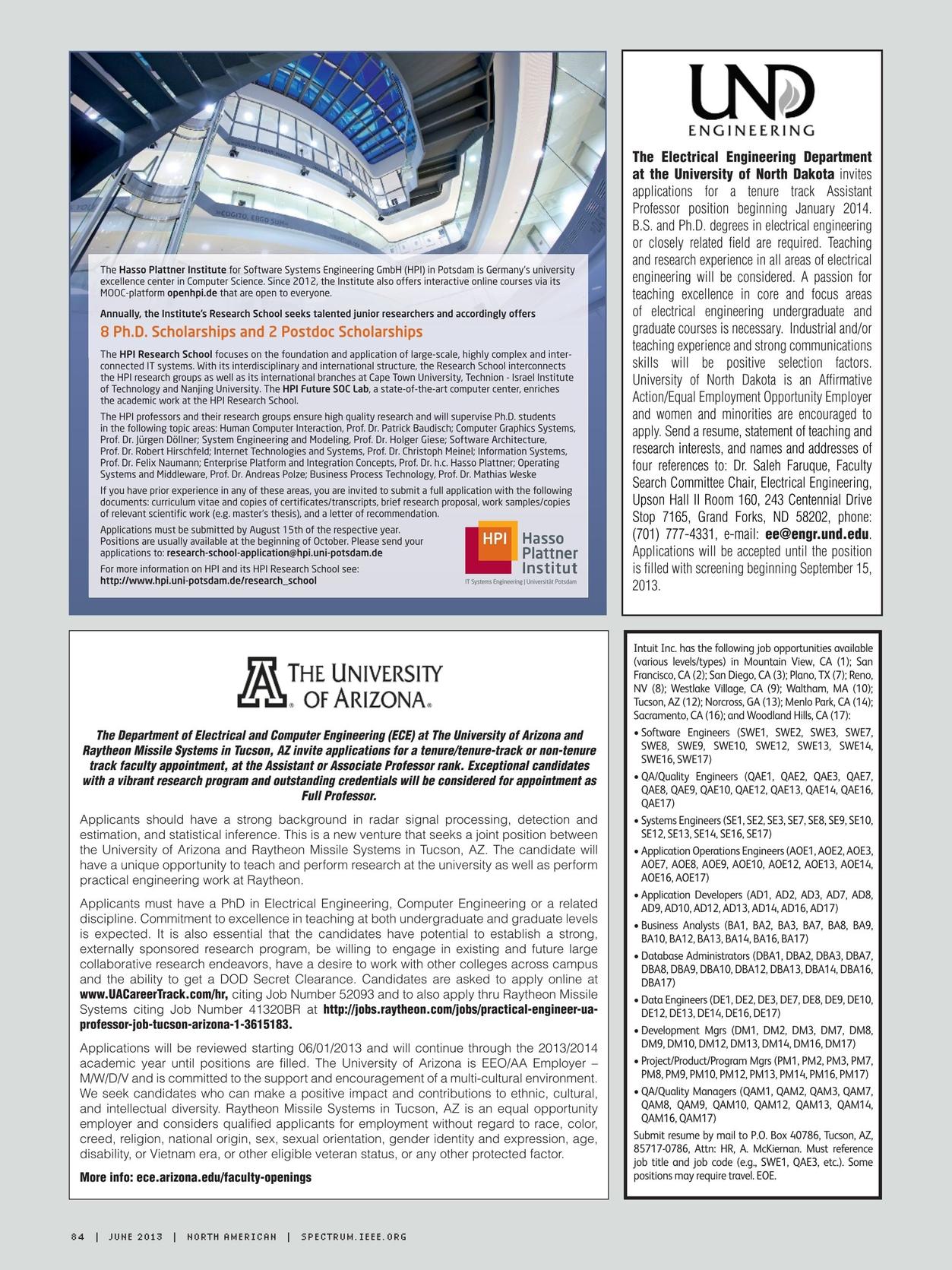 IEEE Spectrum June, 2013