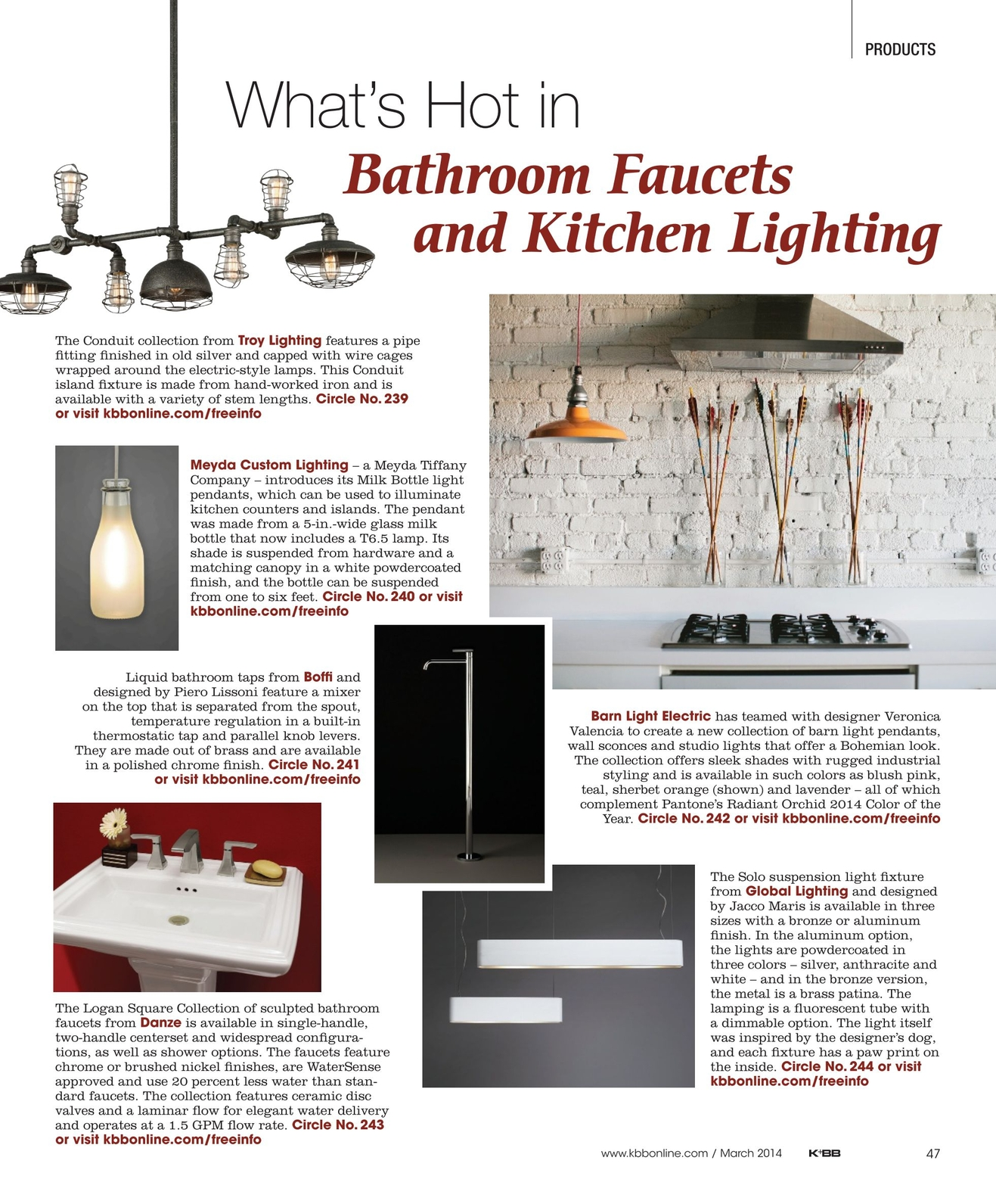 Kbb March 2014 No Wiring Wall Sconces
