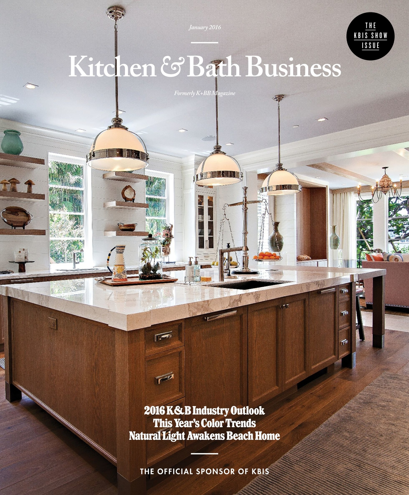 Pleasing Kitchen Bath Business January 2016 Interior Design Ideas Inamawefileorg