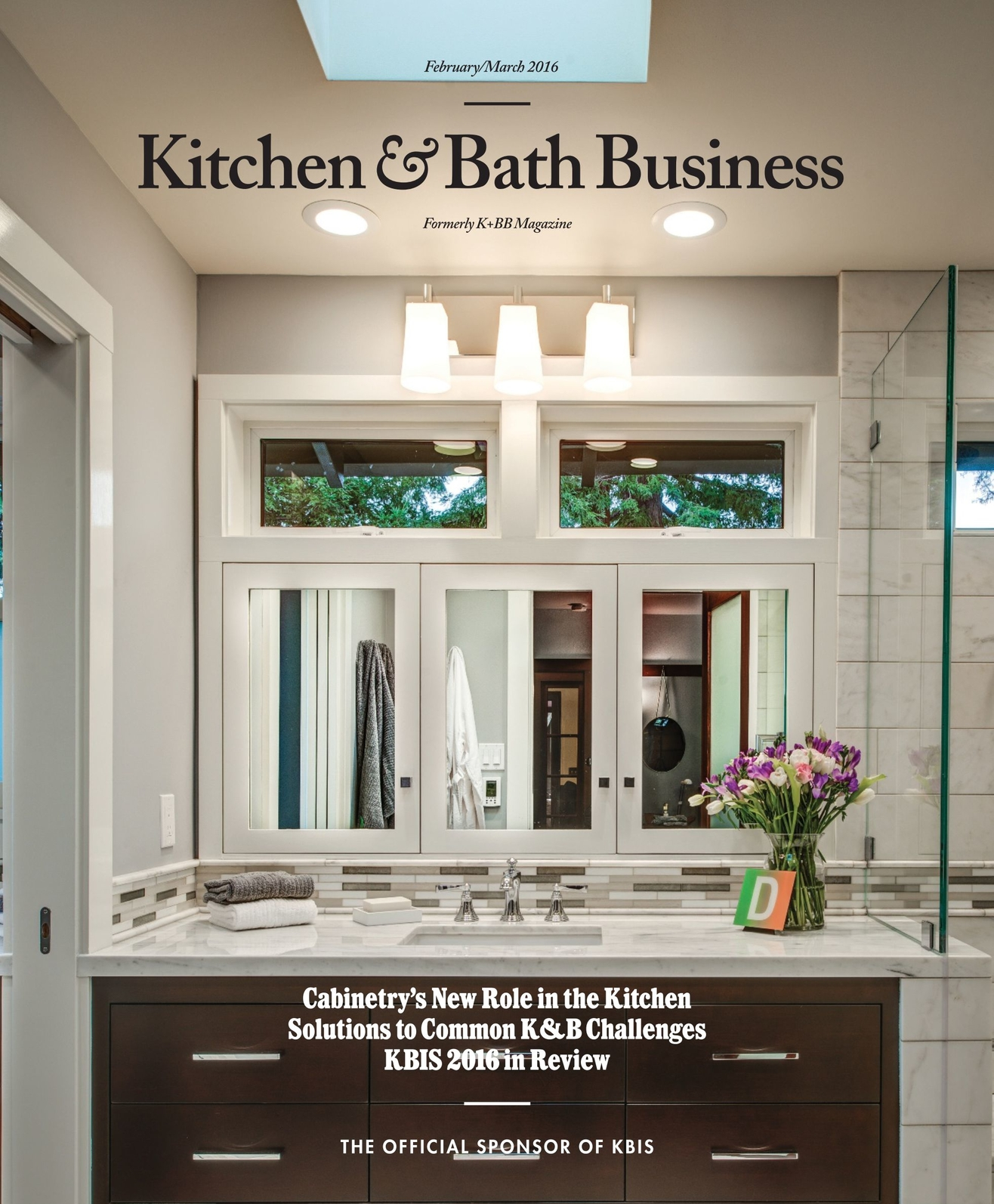 Awe Inspiring Kitchen Bath Business February March 2016 Interior Design Ideas Inamawefileorg