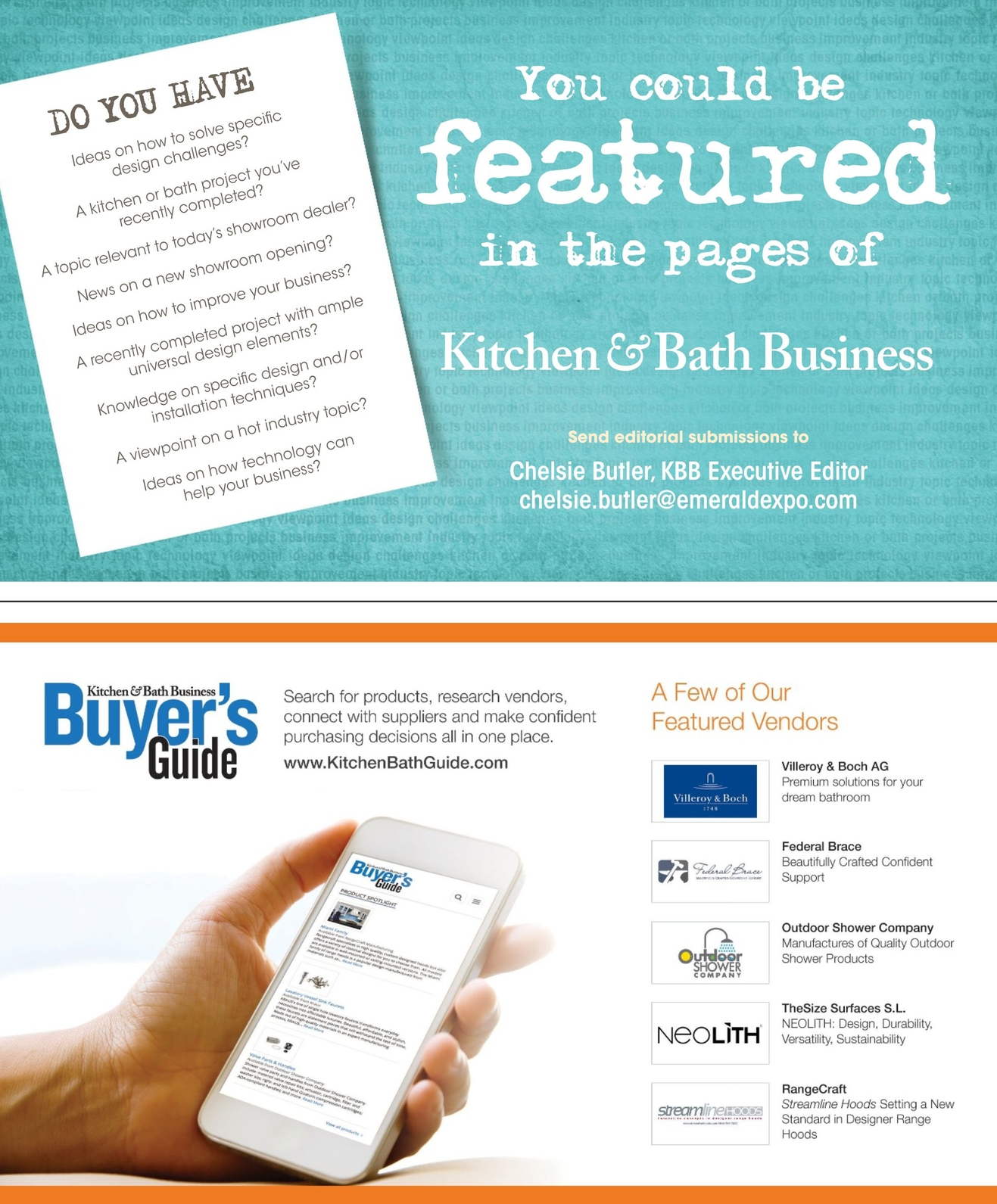 Kitchen & Bath Business - February/March 2016